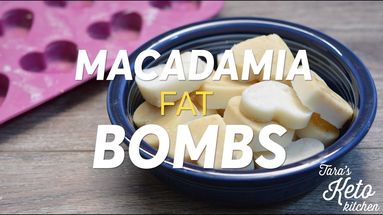 macadamia nut fat bombs a keto fat bomb recipe by taras keto kitchen - Taras Kitchen