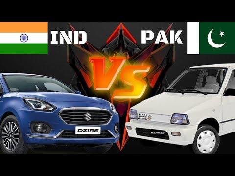 Top 5 Most Selling Car INDIA VS PAKISTAN