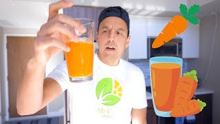 Carrot Juice Plus What I Eat In A Day
