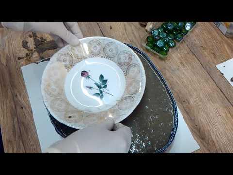 Beton Diy Vogelbad Mit Elfe Youtube