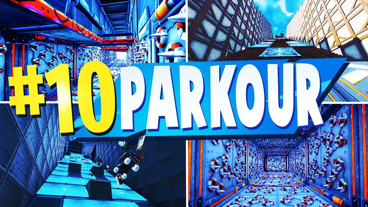 TOP 10 Best PARKOUR Creative Maps In Fortnite | Fortnite Parkour Map CODES