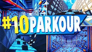 TOP 10 Best PARKOUR Creative Maps In Fortnite   Fortnite Parkour Map CODES