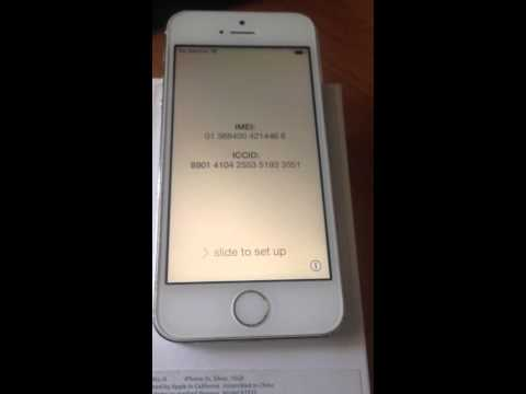 Apple iphone 5S Clean IMEI