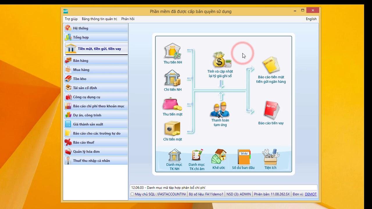 Giới thiệu tổng quan về Fast Accounting 11| Phần mềm kế toán