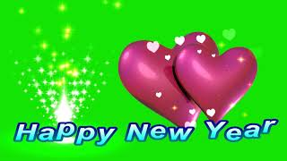 Happy new year wishes best new year wishes Green screen