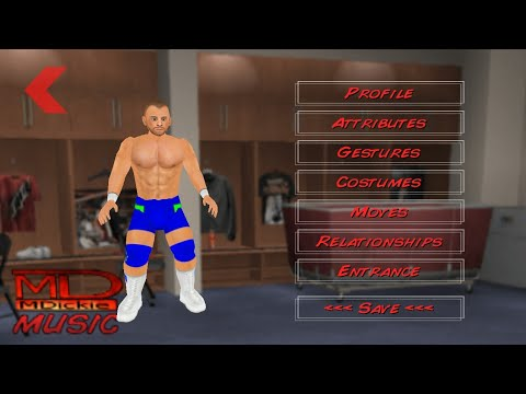 How to create Jason Jordan in wr3d/wrestling revolution 3d game