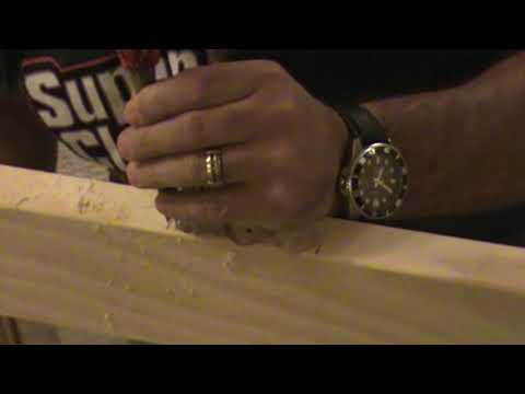 How To Cut Hinges On A Slab Door