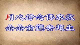 彌勒救苦真經 Maitreya 大字版 卡拉字幕 純淨版不花俏