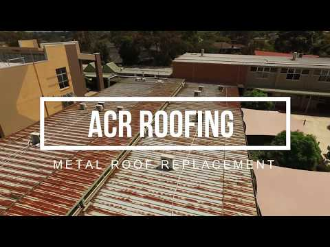 ACR Roofing - Metal Roof Replacement, Avila College