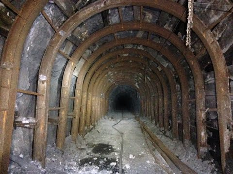 4100 Feet Underground in the Massive, Abandoned Admiral Aaron Ward Mine