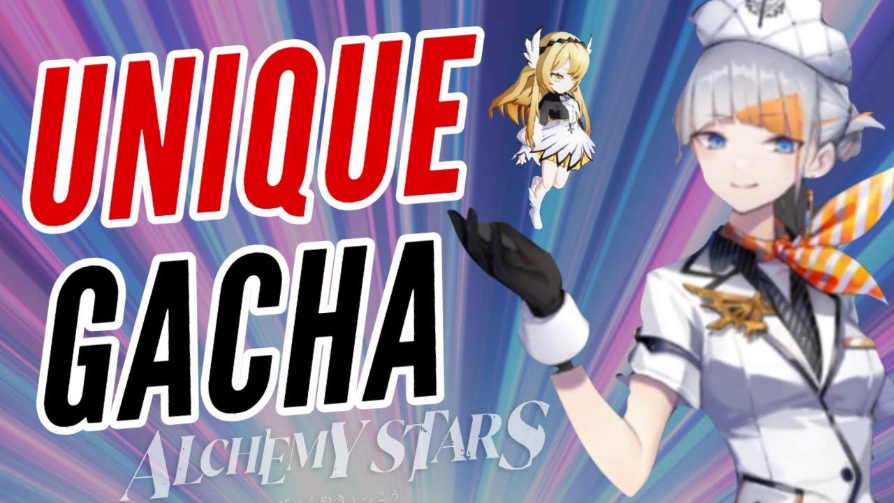 THIS NEW GACHA GAME IS PRETTY UNIQUE  | ALCHEMY STARS