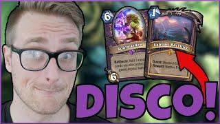 DISCO isn't DEAD Yet? (Quest Discard Warlock) | Descent of Dragons | Wild Hearthstone
