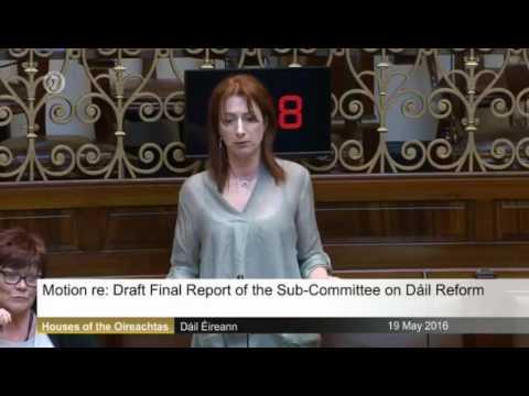 Statements on Dáil reform