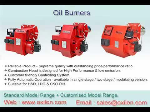 Oxilon Burners