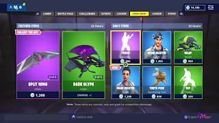 Fortnite Item Shop: NEW MAKI MASTER SKIN! [November 20th 2018] Fortnite Battle Royale