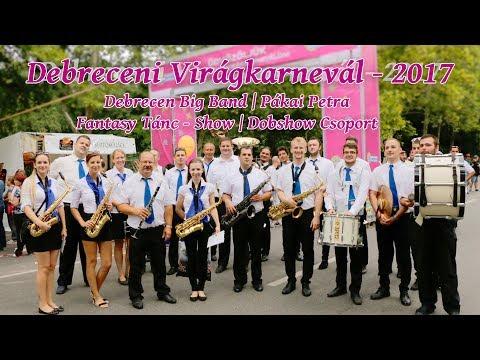 Debrecen Big Band a Virágkarneválon - 2017