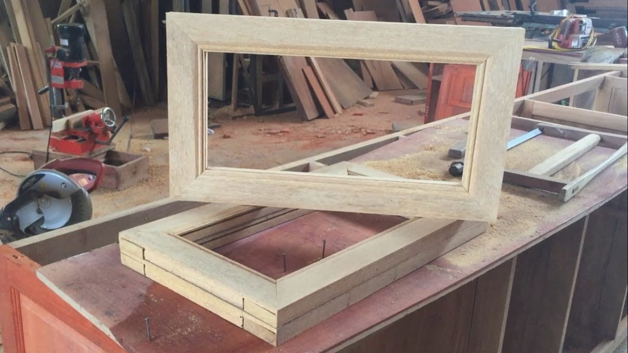Woodworking Skills Extremely Crazy And Art - Make A Wooden Picture ...