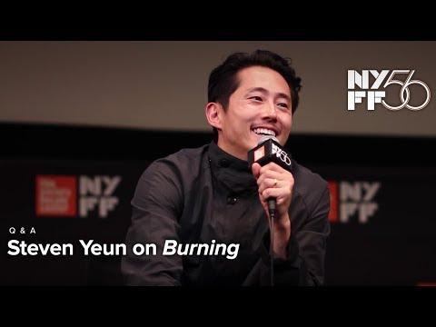 'Burning' Q&A | Steven Yeun | NYFF56