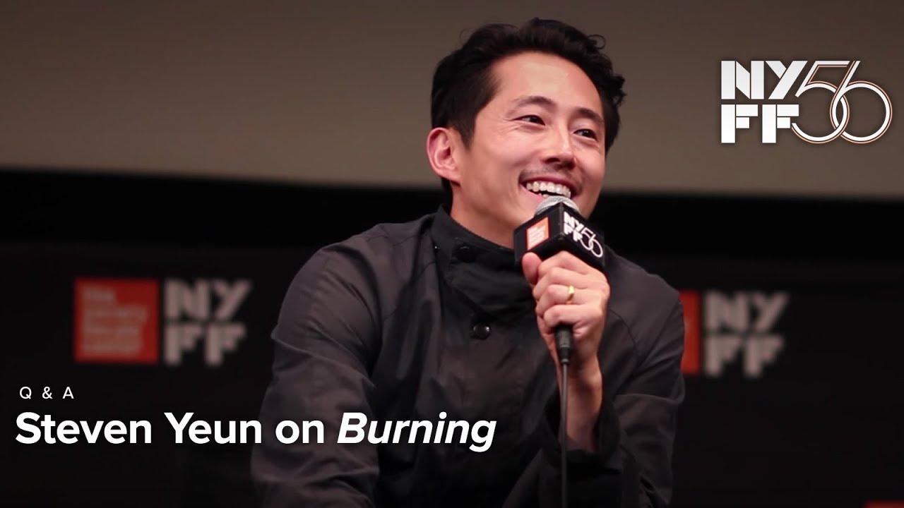 'Burning' Q&A   Steven Yeun   NYFF56