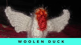 Woolen duck