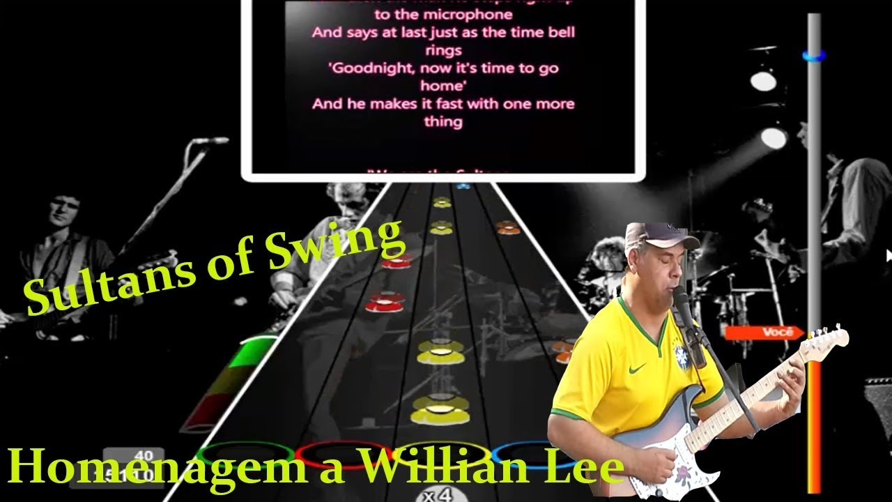 Guitar Flash Sultans Of Swing Youtube