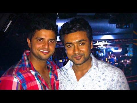 Suresh Raina becomes Mappilai for Surya | CSK Team | Hot Tamil News