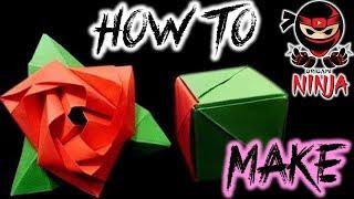 How to make: Origami Magic Rose Cube (Valerie Vann)