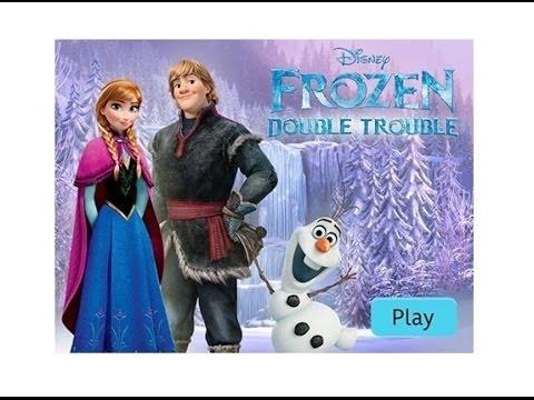 Disney Frozen Double Trouble Game YouTube