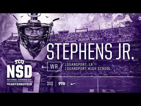 John Stephens Jr. - #CarterBoys18
