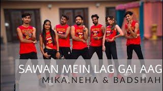 Sawan Mein Lag Gai Aag | Mika,Neha & Badshah | Bollywood zumba | Zumba Fitness | Z Huslters
