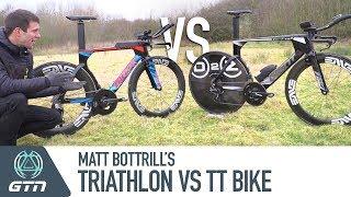 Triathlon Vs. TT Bike | Matt Bottrill