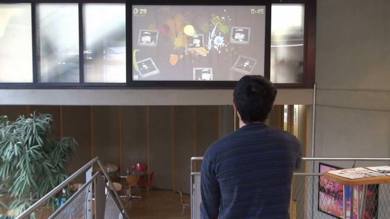 Kinect - Gesture recognition demo