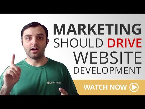 Marketing Should Drive Website Development for Businesses