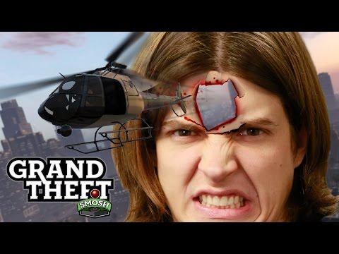 EPIC CHOPPER PRISON ESCAPE (Grand Theft Smosh)