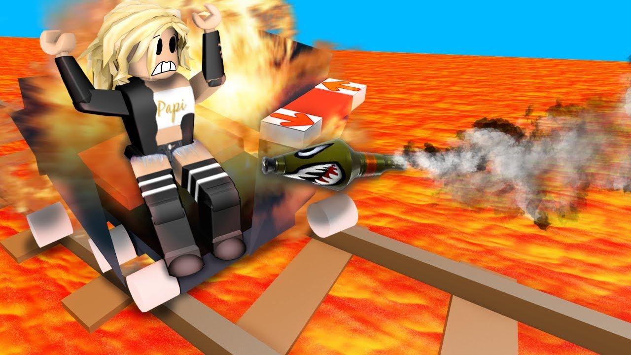 roblox cart ride games