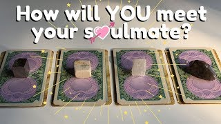 💖How will YOU meet your SOULMATE?🔮 | PICK A CARD Supermoon Tarot