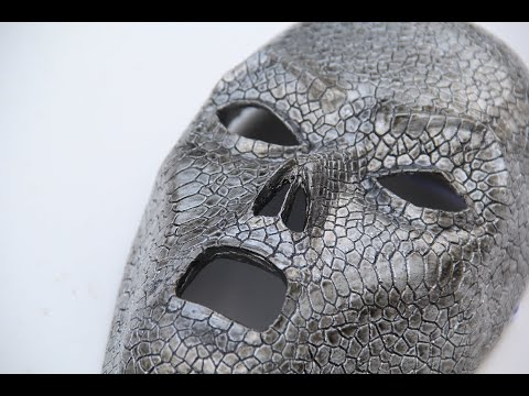 Making a Death Eater mask from resin!