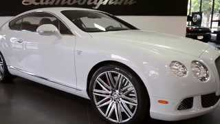 2013 Bentley Continental GT Speed Ice White LC251
