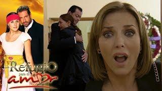 Un refugio para el amor - C.140: ¡Rosa Elena se entera que Vicky es la amante de Maximino!