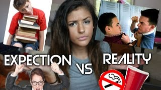 High School Expectations VS Reality + Freshman Tips // Jasmine Sky Thumbnail