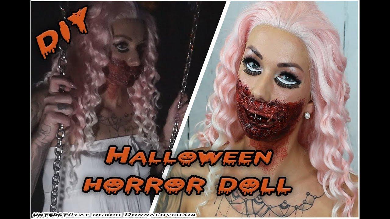 || Halloween-Horror-Doll Kostüm || Make-up Tutorial || Donalovehair