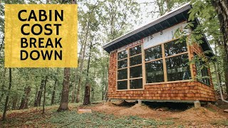DIY Cabin Cost Breakdown