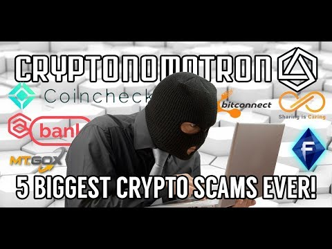 Top 5 Biggest Scams In Cryptocurrency EVER