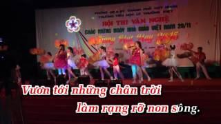 KaraOke Ơn Thầy Em Mãi Khắc Ghi - Tốp Ca Full Beat [ Official HD ]