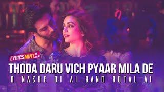 Daru Vich Pyaar Video With Lyrics   Guest iin London   Raghav Sachar   Kartik Aaryan & Kriti