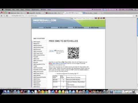 How to Send Free SMS to Seychelles