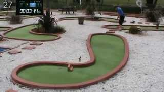 52 Mini Golf Trick Shots made in under 7 mins. Including a 10 X Rapid Fire and Long Putt 1 X 40M +