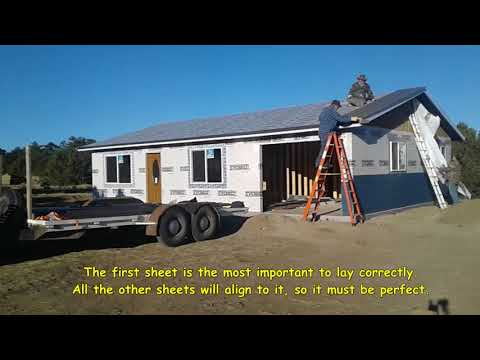 25 The Correct Way to Install Steel Roofing 1