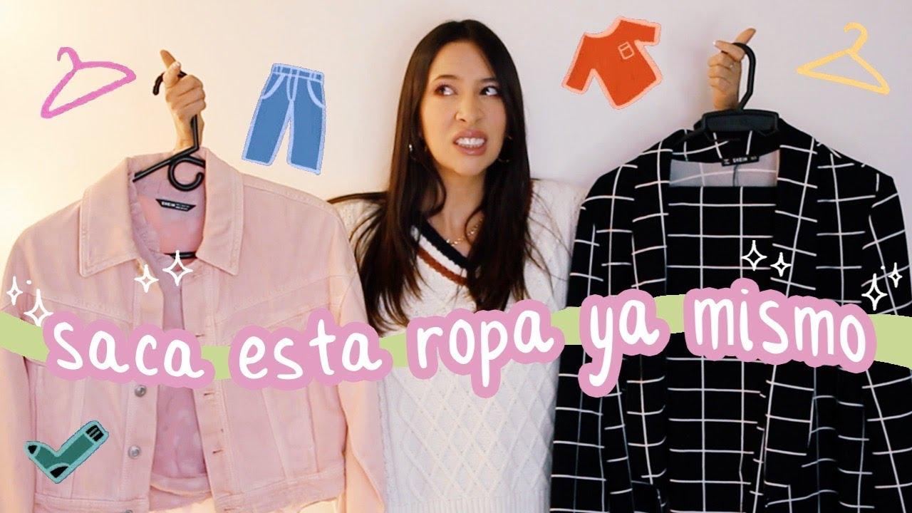 5 tipos de ropa que debes sacar YA MISMO de tu closet | Nancy Loaiza
