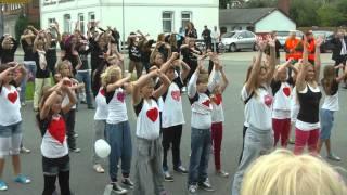 Hochzeit von Nils & Jenny Flashmob
